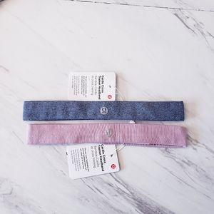 Lululemon Cardio Cross Trainer Headband Blue Pink